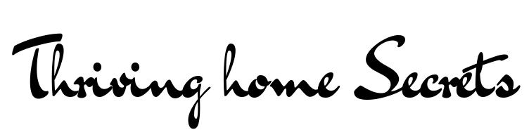 Thriving home secrets