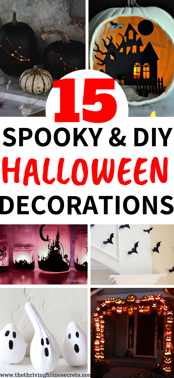 cheap and easy diy halloween decorations