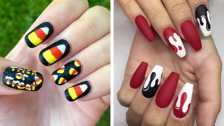 33 Spooky & Creepy Halloween Nails For 2020 That'll Blow ...