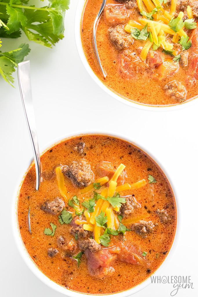 keto low carb soup