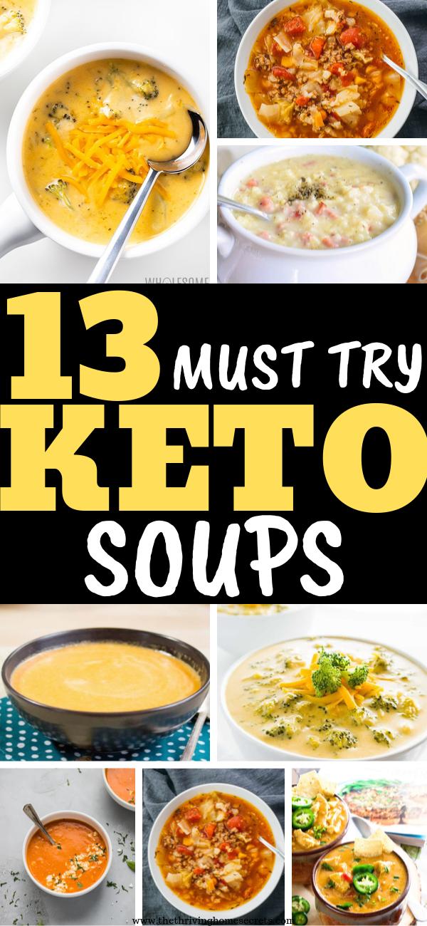 low carb keto soups