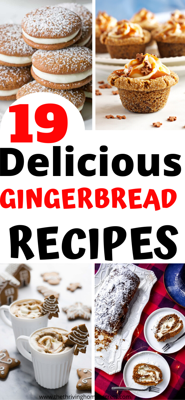 easy gingerbread recipes