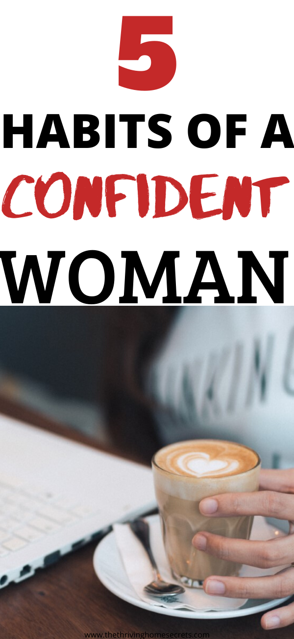 habits of a confident woman