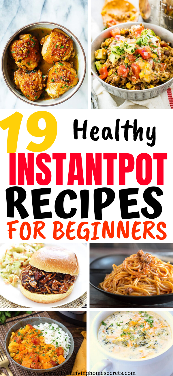 easy instant pot for beginners