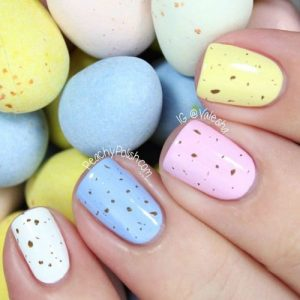 Easter egg nails