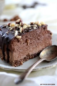 keto chocolate cheesecakes