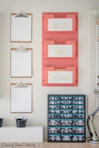 craft room organization hacks